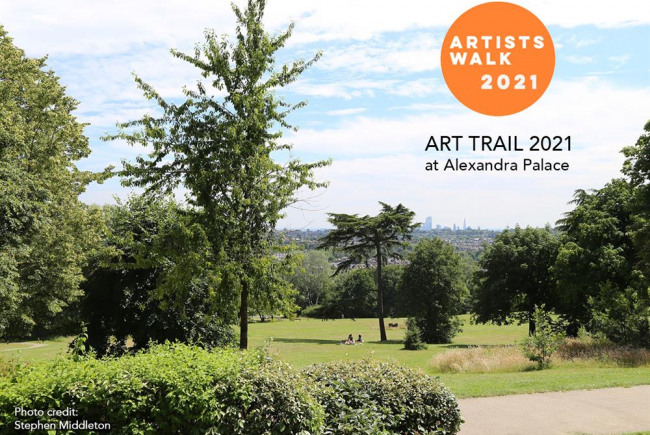 Artists Walk 2021 at Alexandra Palace