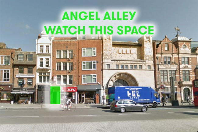 Activating Angel Alley