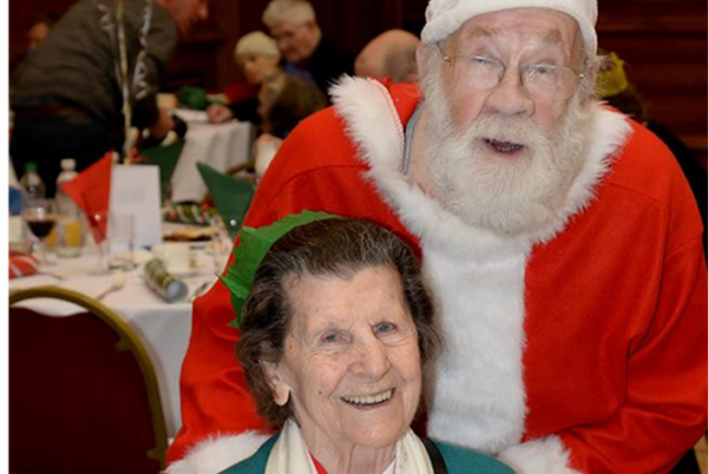 Christmas Day Lunch For Older People