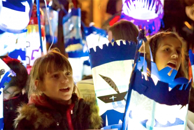 Catford South Kids' Lantern Parade