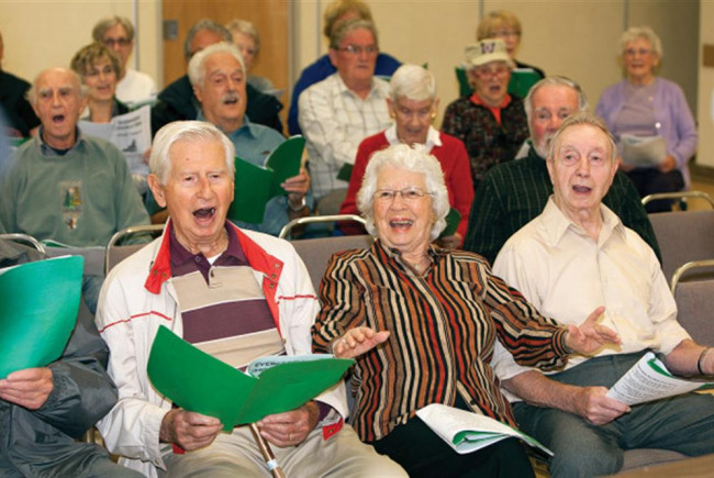 SingWest Choir for the Elderly
