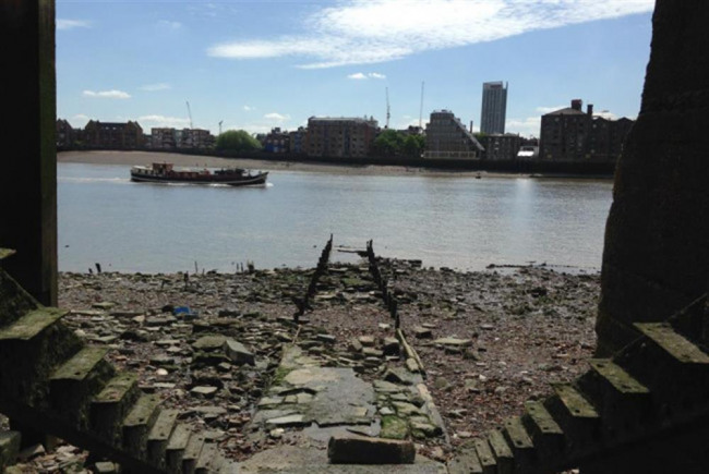 Save Wapping River Stairs