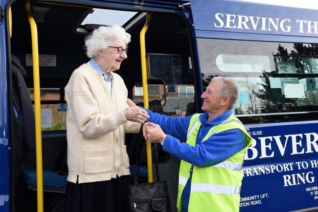 A New Minibus - for elderly and disabled