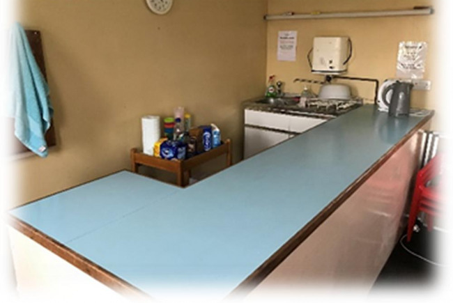 Kitchen for Foodbank and Community Cafe