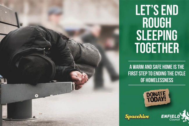 Help fund home starter kits for Enfield's homeless people