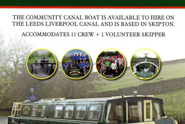 Adams Ark Community Canal Boat - SOS