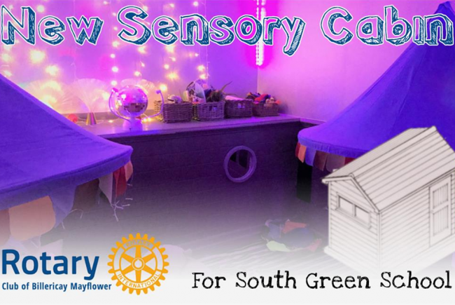 Sensory Cabins for pupils in South Green