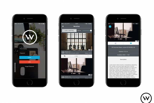 WorkClub, a network of workspaces