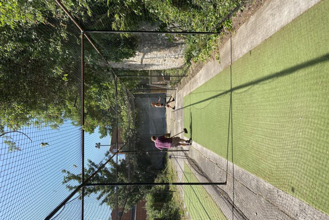 The Old England Cricket Club nets