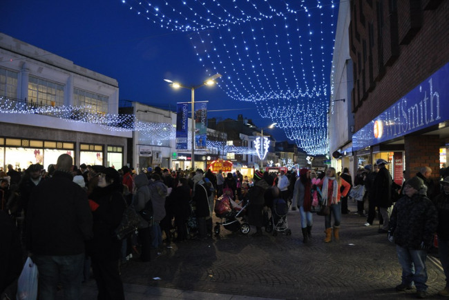 Folkestone Christmas Lights