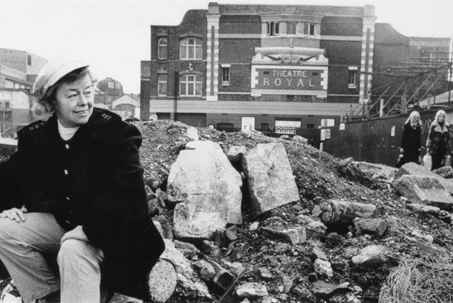 Joan Littlewood Sculpture