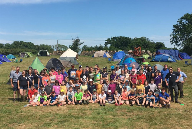 Countrysider conservation campout