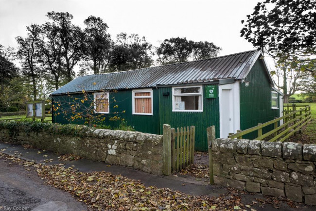 Replace Village Hall hut to new centre