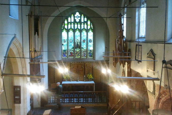 A new arts space at St Mary's Old Church