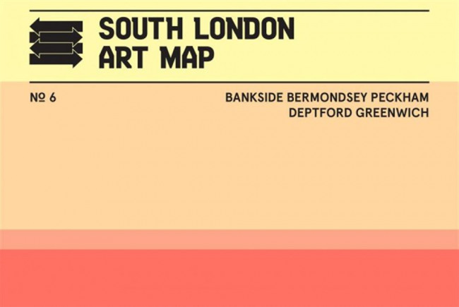 South London Art Map - 2017