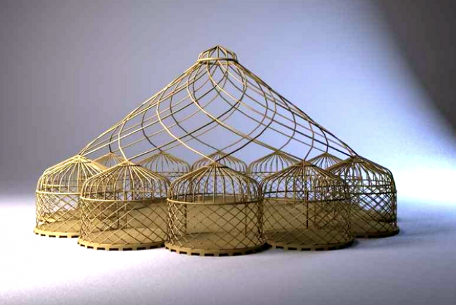 Reconstruction of the Zodiac Tent