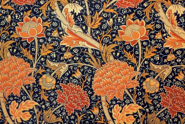 William Morris Steam Print