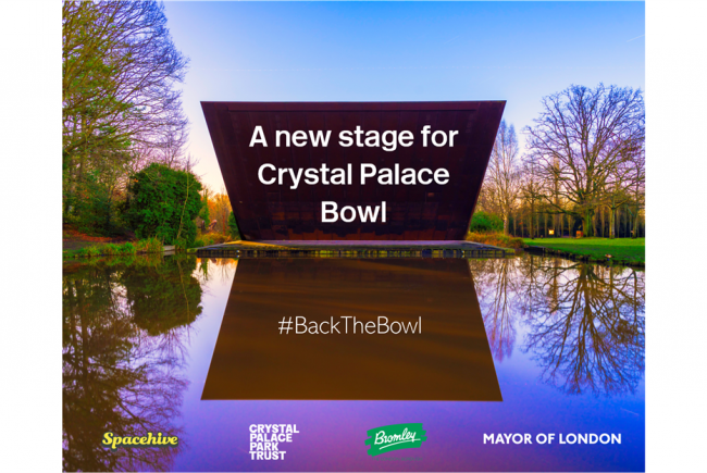 A new stage for Crystal Palace Bowl