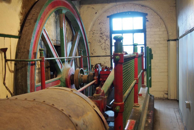Middleport in Motion: the Steam Engine