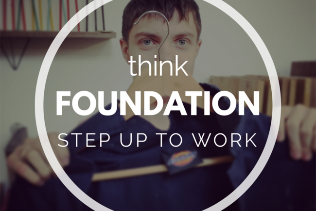 Step Up To Work - thinkFOUNDATION