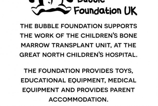 bubble foundation magical christmas