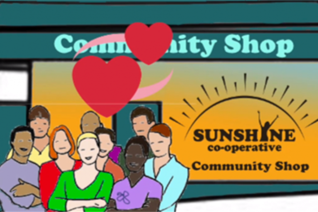 Sunshine Community Shop with a Big Heart