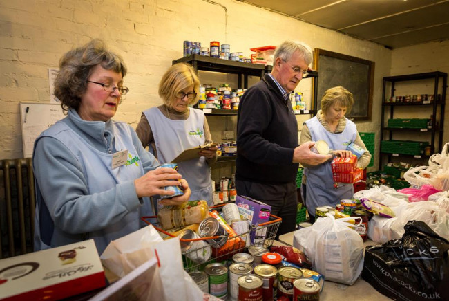 Giving for Gedling Food Bank Appeal