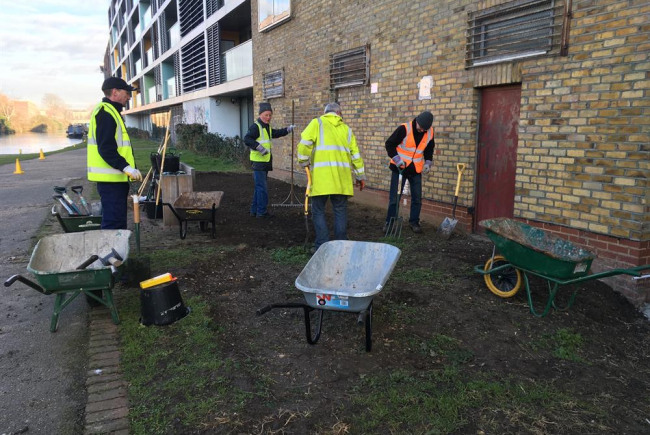 Meadows + clean ups on The Regents Canal