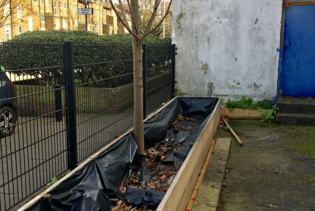 Southwark CSCH Food Growing Space