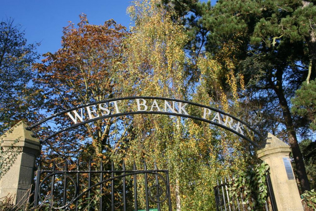 West Bank Park community gate locking