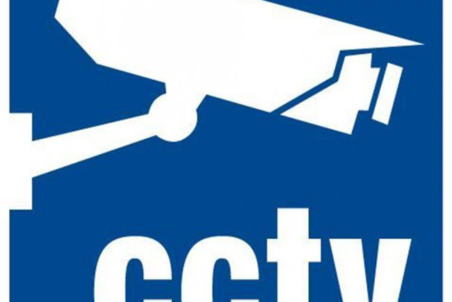 CCTV security on streets of Battersea
