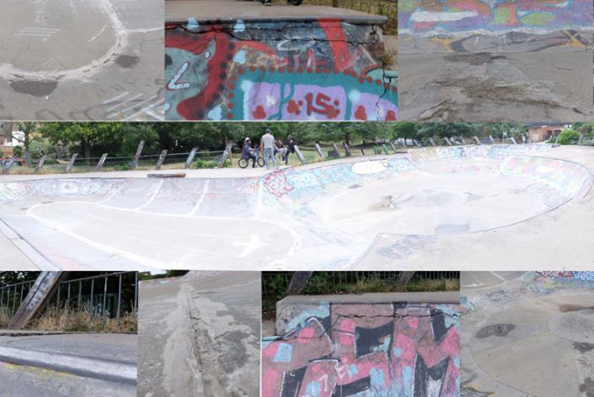 Meanwhile Skate Park Rejuvenation