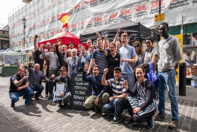 Bring Berwick St Market Back To Health