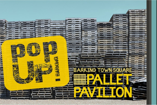 Pop Up! Barking Pallet Pavilion