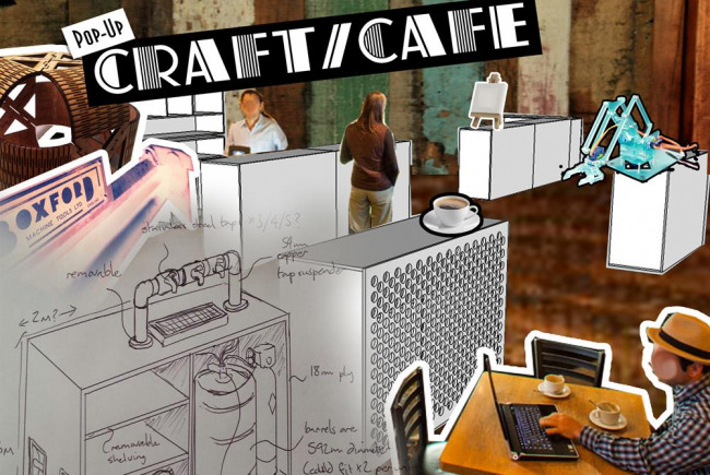 Pop-Up Craft/Cafe