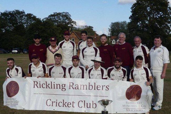 Support Rickling Ramblers Cricket Club